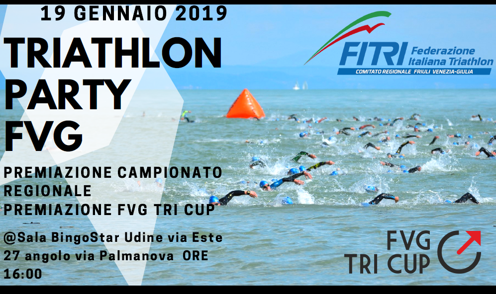 FVG TRIATHLOBN PARTY 2019
